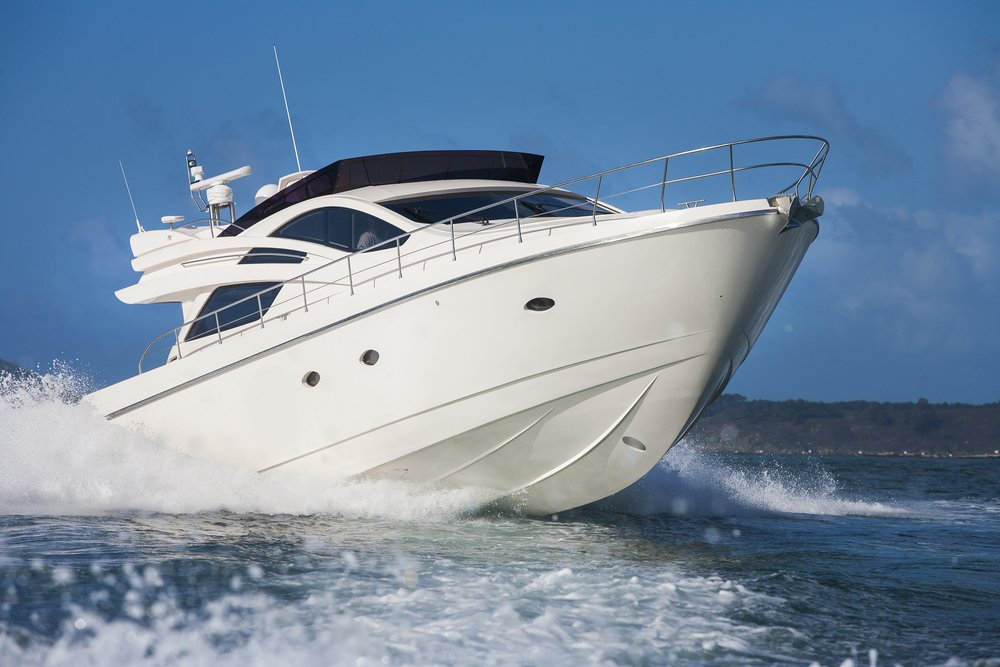 Deep v hulls operate best in what type of water conditions