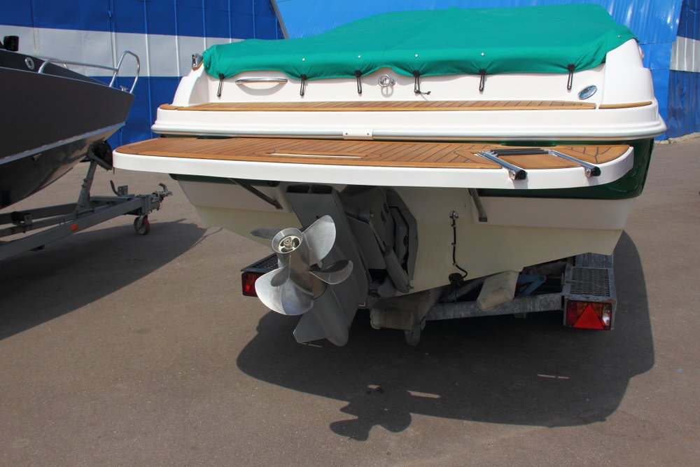 What is a transom on a boat